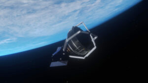 clearspace 1 3d model in space