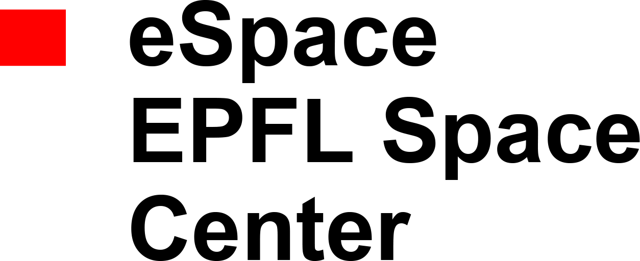 espace epfl space center logo png black text arial