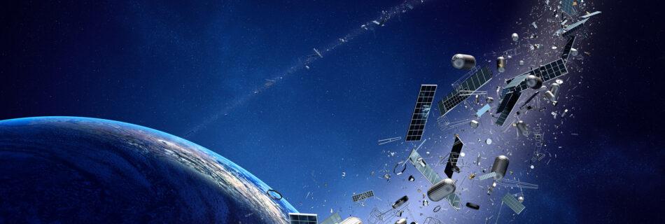 space debris around earth