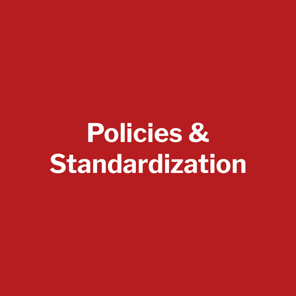 lunar research pillar 6 policies and standardization